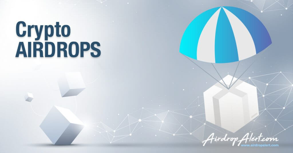 Crypto airdrops with airdrop alert