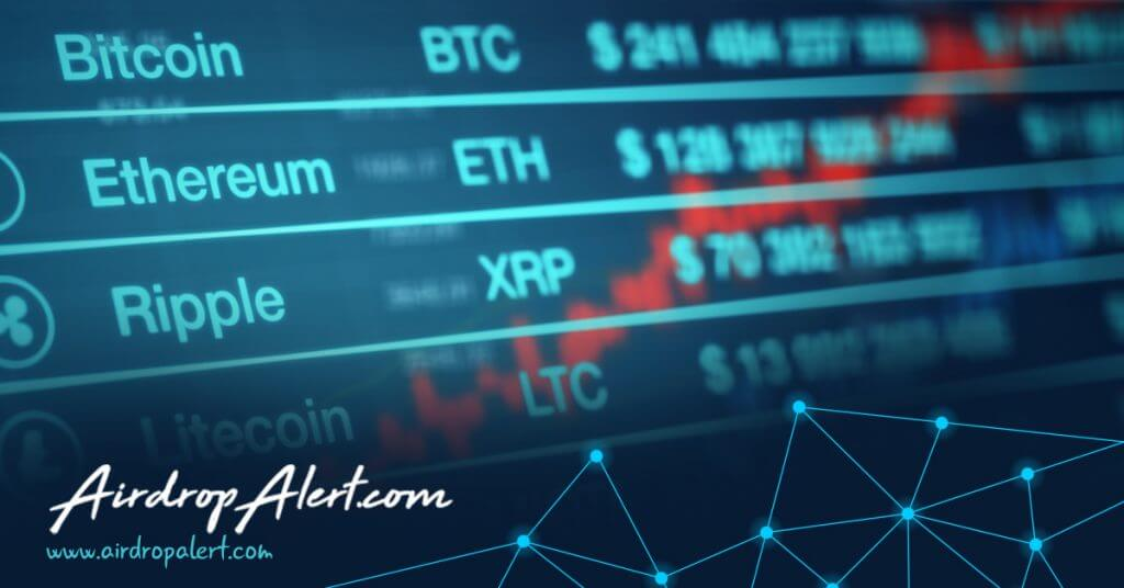 Exchange crypto airdrops