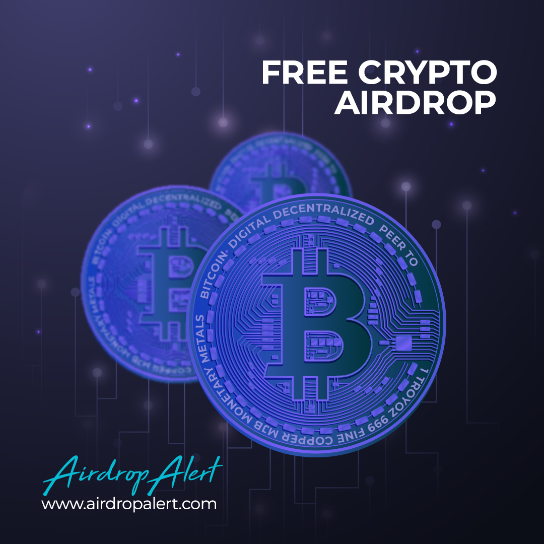 Free money online with crypto airdrops