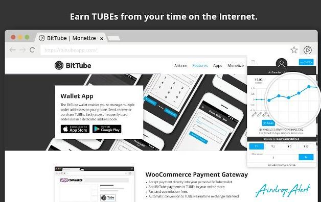 BitTube (TUBE) Airdrop July 27, 2020