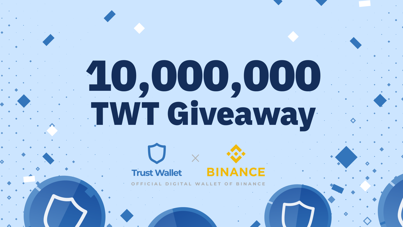 Trust Wallet x Binance banner