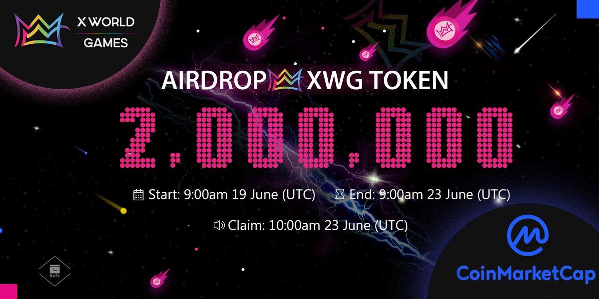 X world Games (XWG) Airdrop