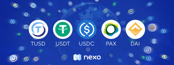 Get an instant credit line of $500 with No minimum repayment requirements by Nexo