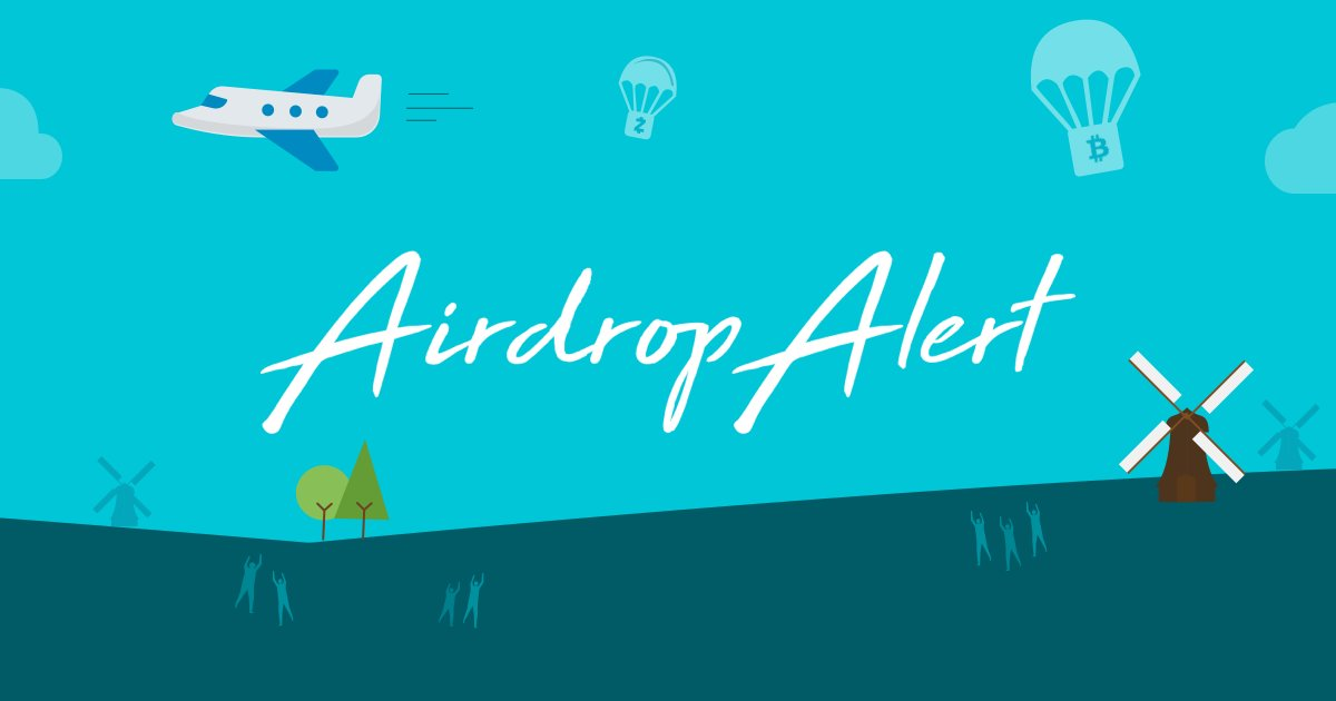 Most interesting airdrops of May 2019 by our partner