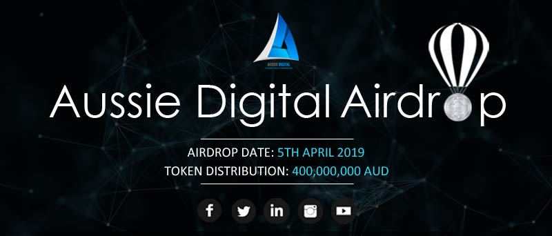 Having trouble with the Aussie Digital Airdrop? Check this video!