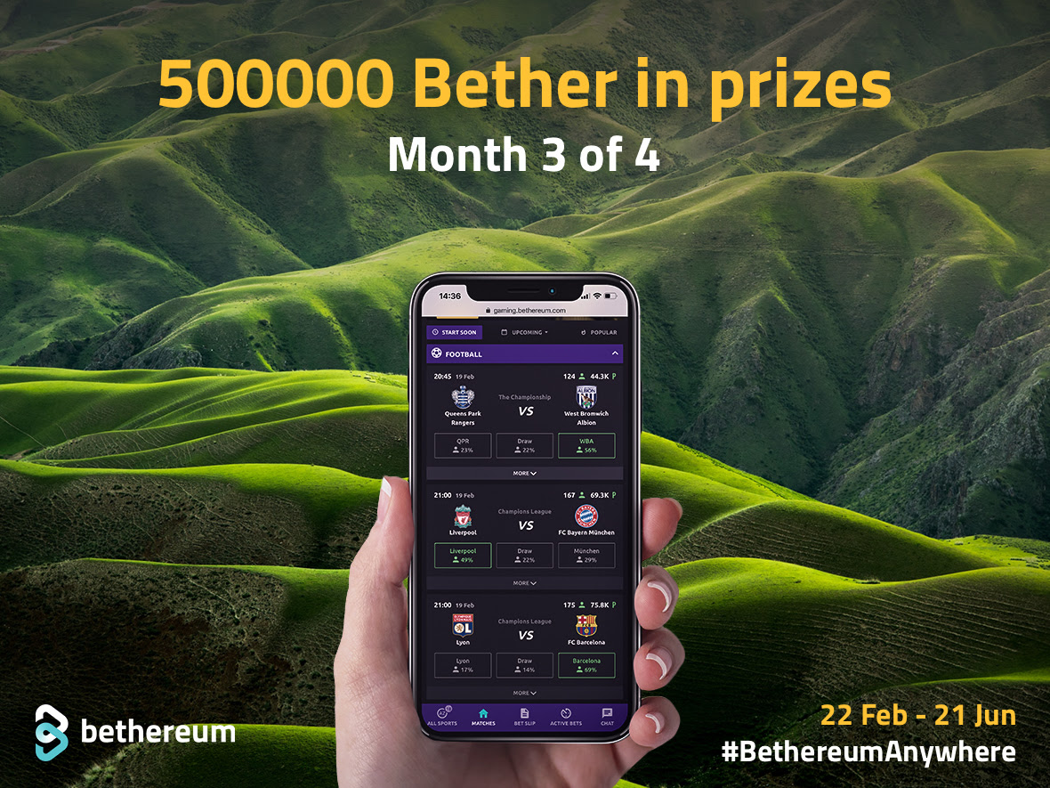 500,000 BETHER tokens Contest by Bethereum