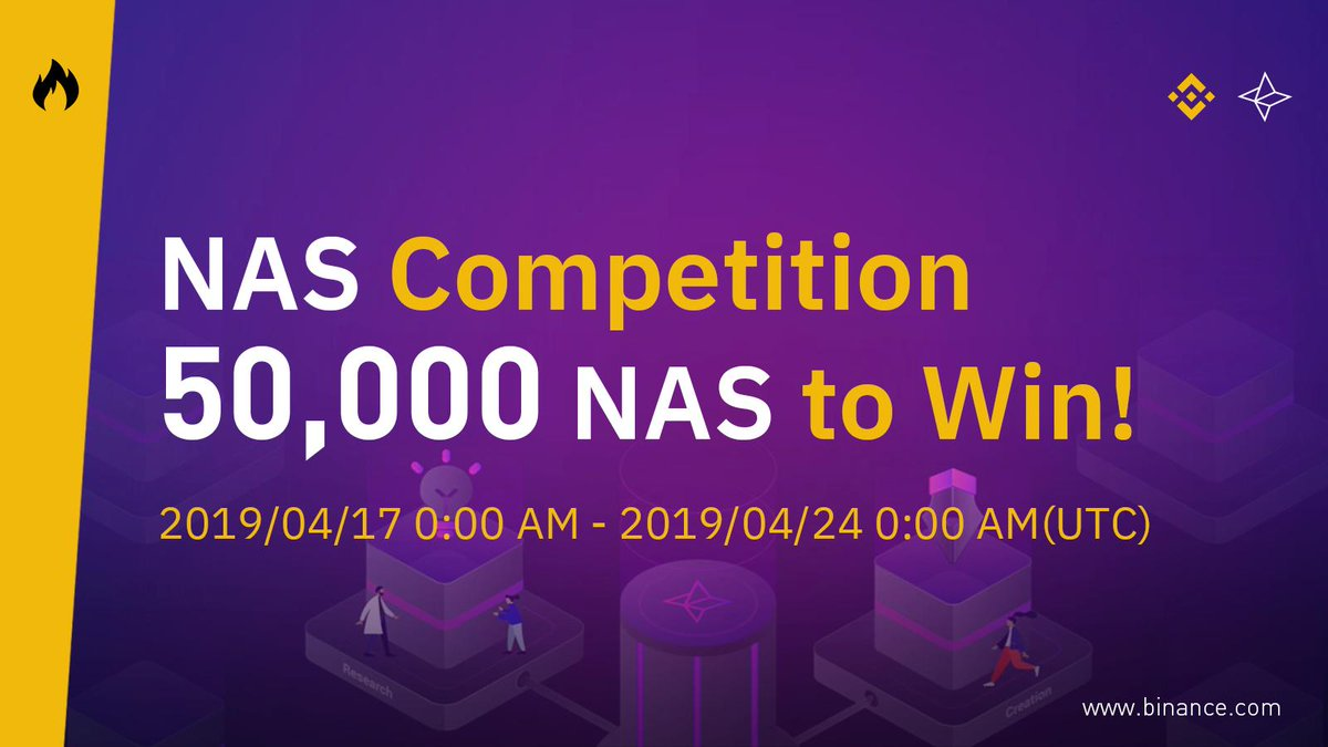 30,000 NAS GiveAway by Binance