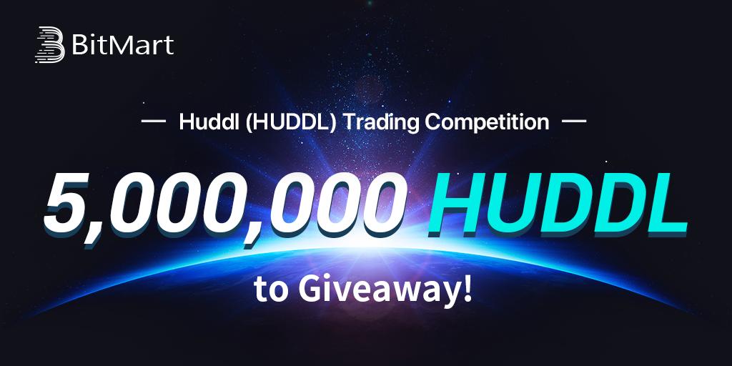 5,000,000 HUDDL Giveaway by BitMart