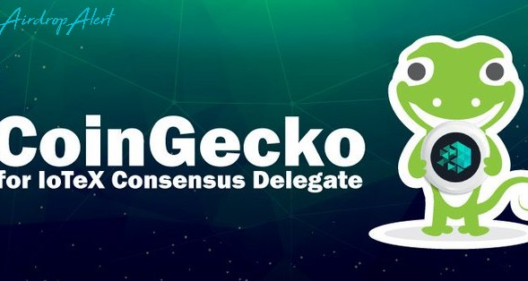 CoinGecko & IoTeX are giving away 25000 IoTeX tokens
