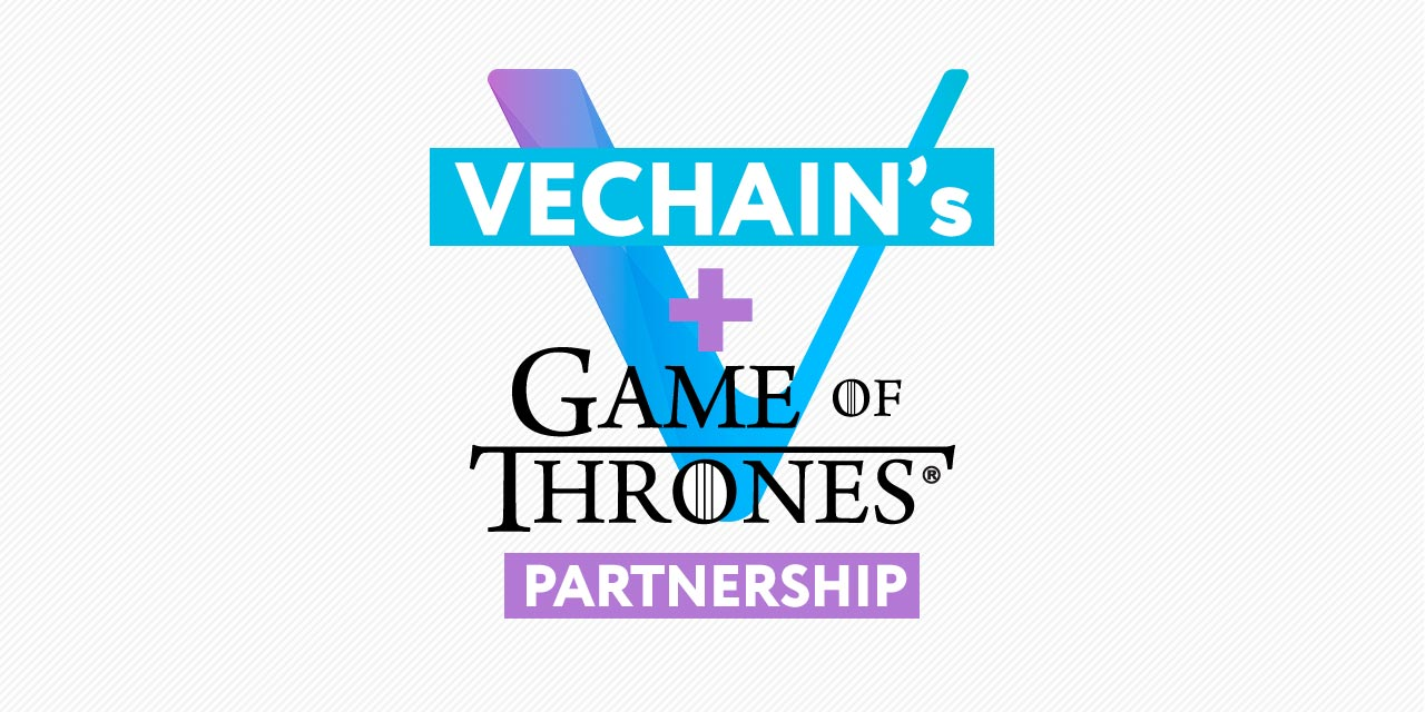 Game Of Thrones sneakers with near-field communication (NFC) chips powered by VeChain
