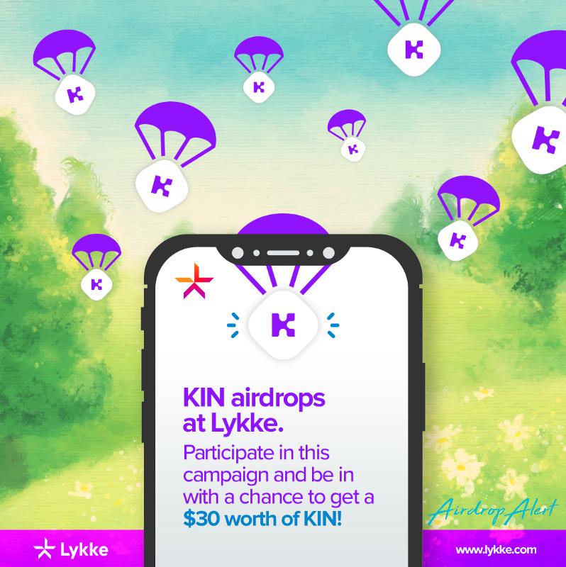 KIN Holders Airdrop by Lykke