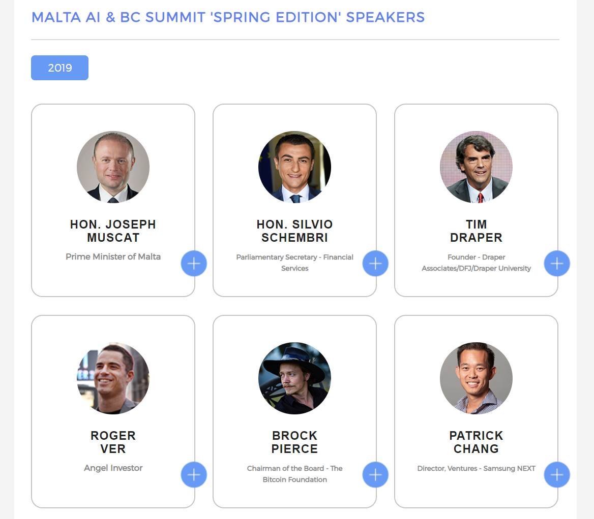 Meet us at the Blockchain summit in Malta