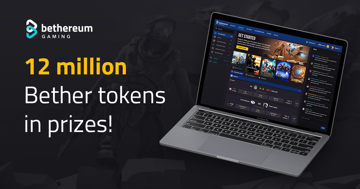 12 Million Bether Giveaway to celebrate Bethereum platform launch