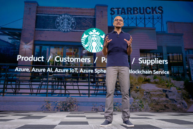 Starbucks implementing blockchain technology with Microsoft Azure
