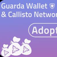 1 million CLO to win - Guarda Wallet & Callisto Network Adoption Bounty