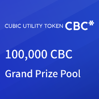 100,000 CBC Grand Prize Pool - 30,000 CBC for Deposit, 40,000 CBC for Trading and 30,000 CBC for inviting