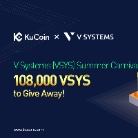 V Systems (VSYS) Summer Carnival - 108,000 VSYS to Give Away