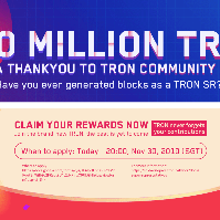 50 million TRX GiveAway to SRs