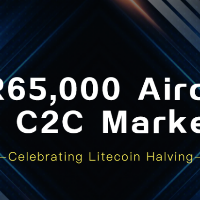 65,000 EUR Airdrop  by Okex on C2C Markets