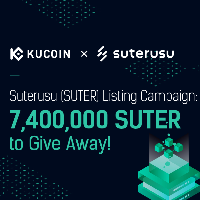 Suterusu (SUTER) Listing Campaign: 7,400,000 SUTER to Give Away