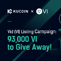 Vid (VI) listing campaign: 93,000 VI to Give Away