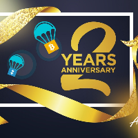 AirdropAlert 2 Years Anniversary distribution completed!