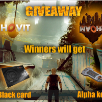 Another GiveAway by Rhovit - Claim free Blackcards and Alpha Keys