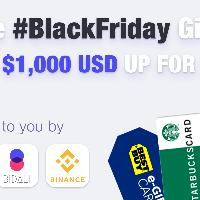 Bidali, Binance And Trust Wallet Team Up For Epic Black Friday Weekend Giveaway