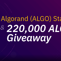 Binance Will Support Algorand (ALGO) Staking & Launch a 220,000 ALGO Initial Staking Reward Airdrop