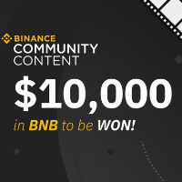 Binance Community Content Contest - $10,000 in BNB to be won