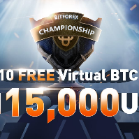 BitForex Championship - 10 Free Virtual BTC and Win 15,000 USDT