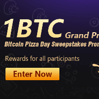 Win up to 1 BTC with the Bitcoin Pizza Day event on BitForex