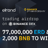 Trading Airdrop on Binance Dex - 77,000,000 ERD & 2,000 BNB to win
