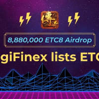 ​ETC8 launch on DigiFinex -Take a share of the 8,880,000 ETC8 candy airdrop