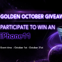 Golden October GiveAway by IDAX - iPhone 11 GiveAway