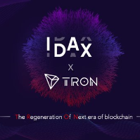 IDAX partners with TRON, Waves of Events and million IT tokens GiveAway