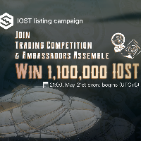 IOST Listing on OceanEx Event - 300,000 IOST to share