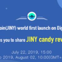 JinyCoin (JINY) launch on DigiFinex - Take a share of the  2,000,000 JINY candy airdrop