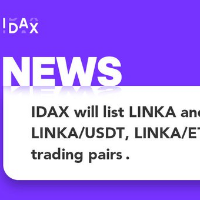 LINKA Trading Competition with million of LINKA GiveAway on IDAX