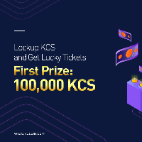 Lockup KCS and Get Lucky Tickets - First Prize: 100,000 KCS