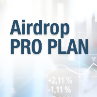 New Airdropped coins in your wallet with the Airdrops Pro-Plan!