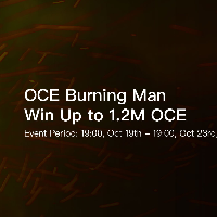 OCE Burning Man - Win Up to 1.2M OCE