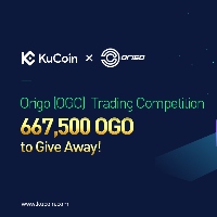 Origo Trading Competition on KuCoin with a total GiveAway of 667,500 OGO tokens