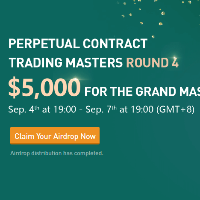Perpetual Trading Master Round 4 on BitForex - $5,000 for the grand master