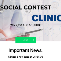 Social Contest by ClinicAll - Win 2,250 CHC & 1BTC