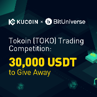 Tokoin Trading Competition - 30,000 USDT to Give Away