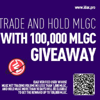Trade and Hold MLGC With 100,000 MLGC Giveaway!