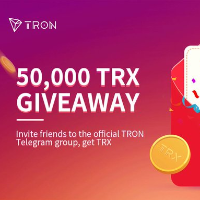 TRON GiveAway of 50,000 TRX