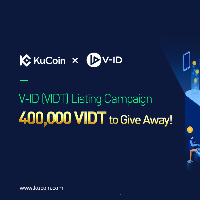 V-ID(VIDT) Listing Campaign: 400,000 VIDT to Give Away