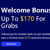 Welcome Bonus Up to $170 For Grabs